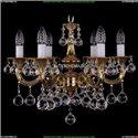 1701/6/A/G/Balls Хрустальная подвесная люстра Bohemia Ivele Crystal (Богемия)