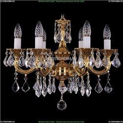 1701/6/A/G/Leafs Хрустальная подвесная люстра Bohemia Ivele Crystal (Богемия)