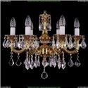 1701/6/181/A/G/Leafs Хрустальная подвесная люстра Bohemia Ivele Crystal