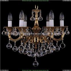 1701/6/181/B/G/Balls Хрустальная подвесная люстра Bohemia Ivele Crystal