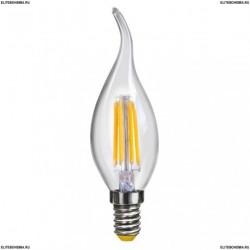 7004 (VG10-CW1E14warm4W-F) Voltega Лампа светодиодная Свеча на ветру