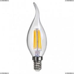 7005 (VG10-CW1E14cold4W-F) Voltega Лампа светодиодная Свеча на ветру