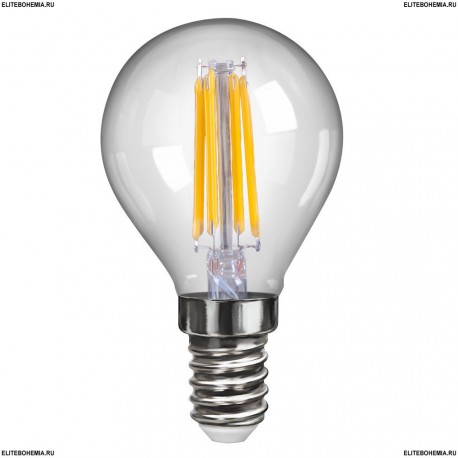 7009 (VG10-G1E14cold4W-F) Voltega Лампа светодиодная Шар
