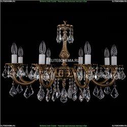 1702/8/265/A/FP/Leafs Хрустальная подвесная люстра Bohemia Ivele Crystal