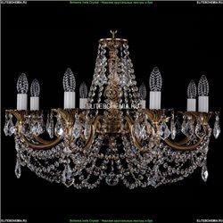 1702/8/C/FP/Leafs Хрустальная подвесная люстра Bohemia Ivele Crystal (Богемия)