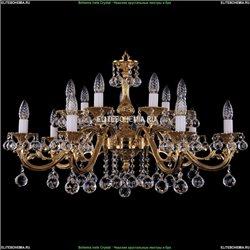 1703/14/320/A/G/Balls Хрустальная подвесная люстра Bohemia Ivele Crystal