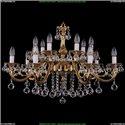 1703/14/320/B/G/Balls Хрустальная подвесная люстра Bohemia Ivele Crystal