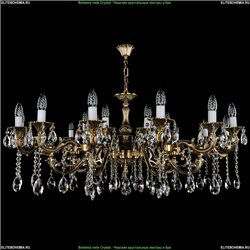 1703/21/A Хрустальная подвесная люстра Bohemia Ivele Crystal