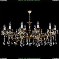 1703/21/A Хрустальная подвесная люстра Bohemia Ivele Crystal (Богемия)