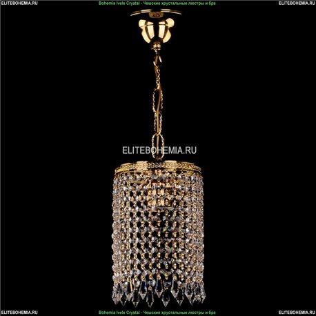 1920/15/G Bohemia Ivele Crystal, Чешский Подвесной хрустальный светильник