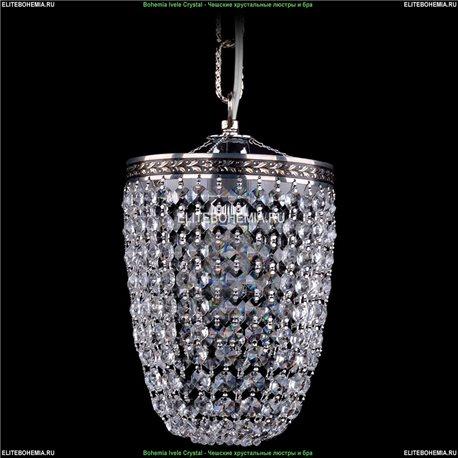 1920/15O/NB Bohemia Ivele Crystal, Чешский Подвесной хрустальный светильник