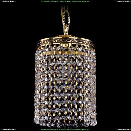 1920/15R/GB Bohemia Ivele Crystal, Чешский Подвесной хрустальный светильник