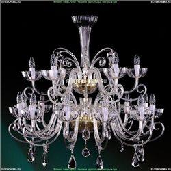 1333/12+6/380/G Хрустальная подвесная люстра Bohemia Ivele Crystal