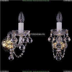 1402B/1/195/XL/G/Balls Хрустальное бра Bohemia Ivele Crystal