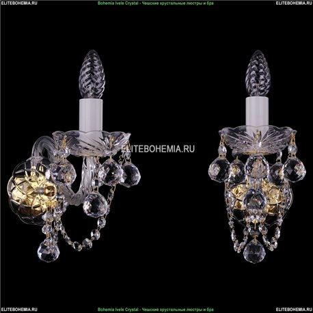 1400/1/Big/G/Balls Хрустальная бра Bohemia Ivele Crystal (Богемия)