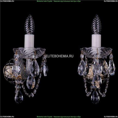 1400/1/Big/Pa Хрустальная бра Bohemia Ivele Crystal (Богемия)