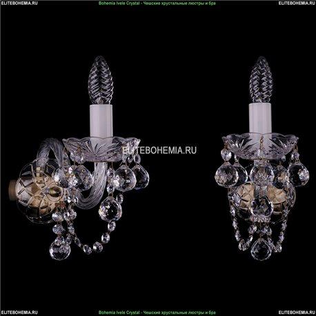 1400/1/Big/Pa/Balls Хрустальная бра Bohemia Ivele Crystal (Богемия)