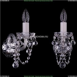 1400/1/Ni/Balls Хрустальное бра Bohemia Ivele Crystal (Богемия)