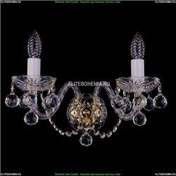 1402B/2/195/XL/G/Balls Хрустальное бра Bohemia Ivele Crystal
