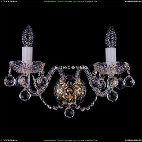 1400/2/Big/G/Balls Хрустальная бра Bohemia Ivele Crystal (Богемия)