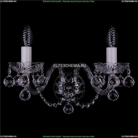 1400/2/Big/Ni/Balls Хрустальная бра Bohemia Ivele Crystal (Богемия)