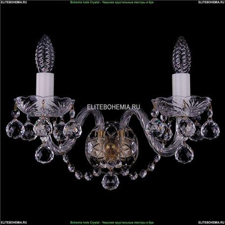 1400/2/Big/Pa/Balls Хрустальная бра Bohemia Ivele Crystal (Богемия)