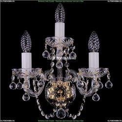 1400/3/G/Balls Хрустальное бра Bohemia Ivele Crystal (Богемия)