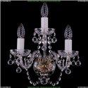1402B/2+1/141/Pa/Balls Хрустальное бра Bohemia Ivele Crystal
