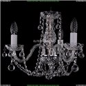1402/3/141/Ni/Balls Хрустальная подвесная люстра Bohemia Ivele Crystal (Богемия)