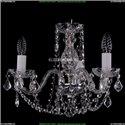1402/3/141/Ni/Leafs Хрустальная подвесная люстра Bohemia Ivele Crystal
