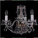 1402/3/141/Pa/Balls Хрустальная подвесная люстра Bohemia Ivele Crystal