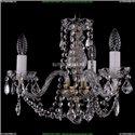 1402/3/141/Pa/Leafs Хрустальная подвесная люстра Bohemia Ivele Crystal