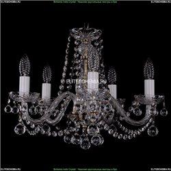 1402/5/160/Pa/Balls Хрустальная подвесная люстра Bohemia Ivele Crystal