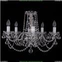1402/5/195/Ni/Balls Хрустальная подвесная люстра Bohemia Ivele Crystal