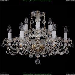 1402/6+3/195/G/Balls Хрустальная подвесная люстра Bohemia Ivele Crystal
