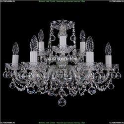 1402/6+3/195/Ni/Balls Хрустальная подвесная люстра Bohemia Ivele Crystal