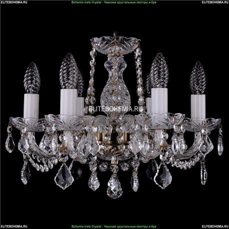 1402/6/141/Pa/Leafs Хрустальная подвесная люстра Bohemia Ivele Crystal (Богемия)