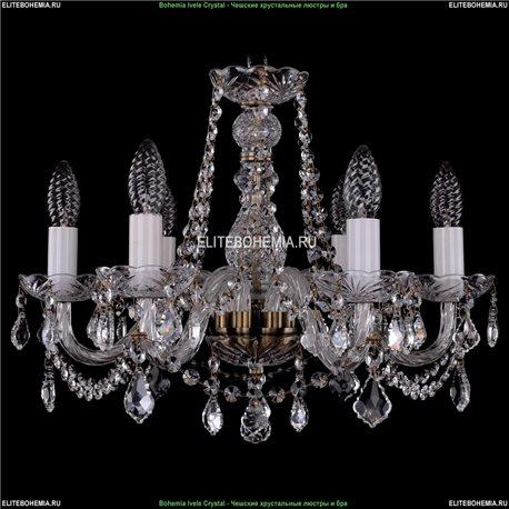 1402/6/160/Pa/Leafs Хрустальная подвесная люстра Bohemia Ivele Crystal (Богемия)