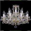 1402/8+4/195/G/Balls Хрустальная подвесная люстра Bohemia Ivele Crystal