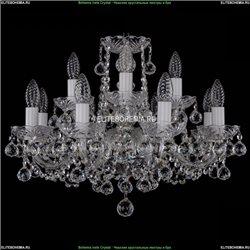 1402/8+4/195/Ni/Balls Хрустальная подвесная люстра Bohemia Ivele Crystal