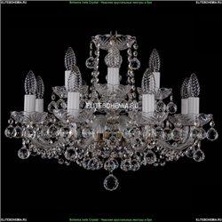 1402/8+4/195/Pa/Balls Хрустальная подвесная люстра Bohemia Ivele Crystal