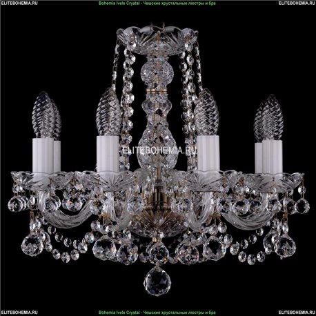 1402/8/141/Pa/Balls Хрустальная подвесная люстра Bohemia Ivele Crystal (Богемия)