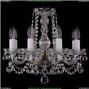 1402/8/141/Pa/Balls Хрустальная подвесная люстра Bohemia Ivele Crystal