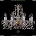1402/8/160/G/Balls Хрустальная подвесная люстра Bohemia Ivele Crystal