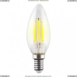 7020 (VG10-C1E14cold6W-F) Voltega Лампа светодиодная филаментная E14 6W 4000К, Свеча
