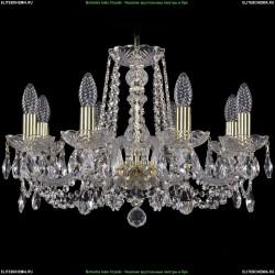 1402/8/195/G Хрустальная подвесная люстра Bohemia Ivele Crystal