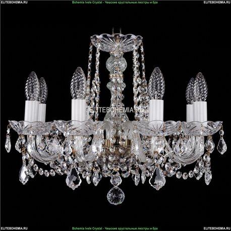 1402/8/160/Pa/Leafs Хрустальная подвесная люстра Bohemia Ivele Crystal (Богемия)
