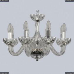 1310/8/165 Ni Cl/Clear/M-1H Хрустальная люстра Bohemia Ivele Crystal (Богемия), 1310