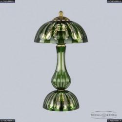 1370L/3/25 G Clear-Green/H-1H Хрустальная настольная лампа Bohemia Ivele Crystal (Богемия), 1370