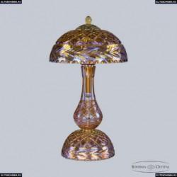 1371L/3/25 G Shampan/M-1F Хрустальная настольная лампа Bohemia Ivele Crystal (Богемия), 1371